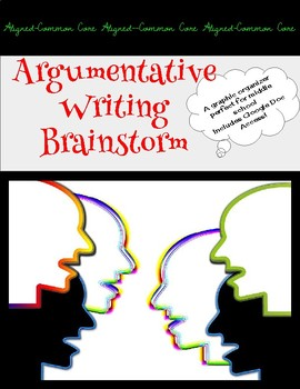 Argumentative Writing Brainstorm