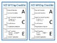 Argumentative Writing Checklist Bundle