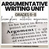 Argumentative Writing - Common Core Aligned