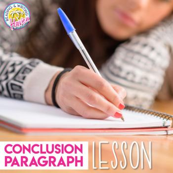 Argumentative Writing Conclusion Paragraph Lesson