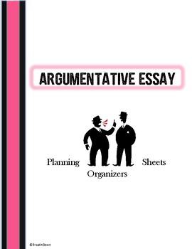 Argumentative Writing Graphic Organizers