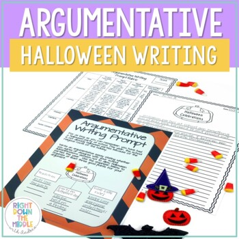 Argumentative Writing: Halloween Writing for Middle and High School