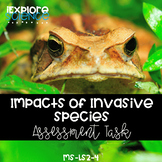 Impacts of Invasive Species on Ecosystems: CER Assessment