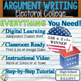 Argumentative Writing Lesson / Prompt – w/ Digital Resource – Electoral College