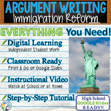 Argumentative Writing Lesson / Prompt – w/ Digital Resource – Immigration Reform