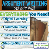 Argumentative Writing Lesson / Prompt – with Digital Resource – Border Wall
