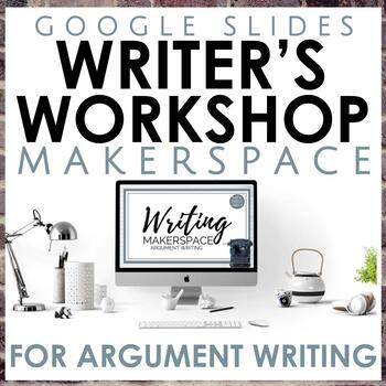 Distance Learning Argumentative Writing Makerspace