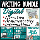 Argumentative, Narrative, & Informative Writing DISTANCE L