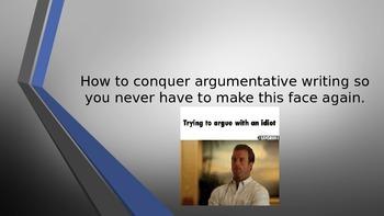 Argumentative Writing Outline