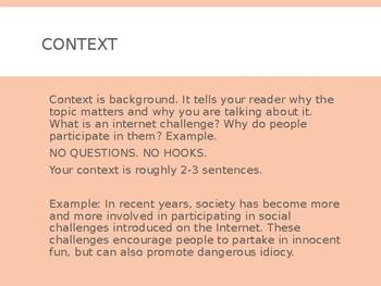 Argumentative Writing PPT