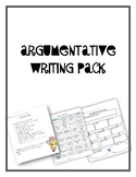 Argumentative Writing Pack