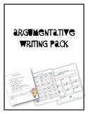 Argumentative Writing Pack