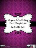 Argumentative Writing: Student-Friendly Peer Editing Rubrics (Grades 6-12)