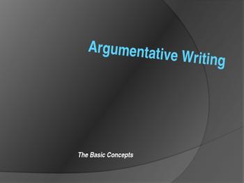 Argumentative Writing Power Point Presentation