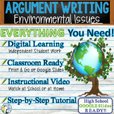Argumentative Writing Lesson / Prompt w/ Digital Resource