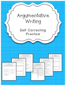 Argumentative Writing: Self-Correcting Center Work {Differentiated}