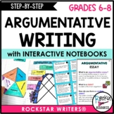 Step By Step Argumentative Writing with Model Lessons
