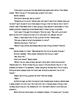"Argumentative Writing Task: ""The Gun"" by Carol Ellis"