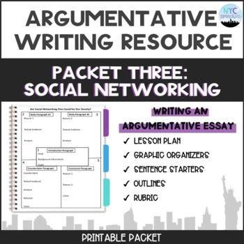 social media argumentative essay topics