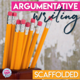 Argumentative Writing Unit Bundle for Middle and High School