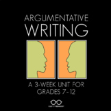 Argumentative Writing Unit: Grades 7-12
