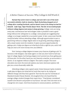 argumentative writing essay