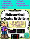 Argumentative Writing using Philosophical Chairs- Presentation & Activity