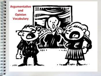 Argumentative and Opinion Vocabulary Slideshow
