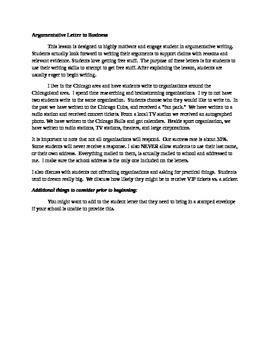 persuasive letter format argumentative or persuasive letter to business by 23951 | original 1761474 1