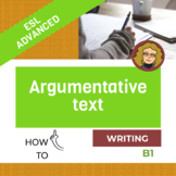 Argumentative text (B1)