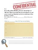 Argumentative writing mystery activity