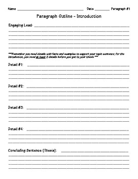 Argumentative/Persuasive Essay Pack