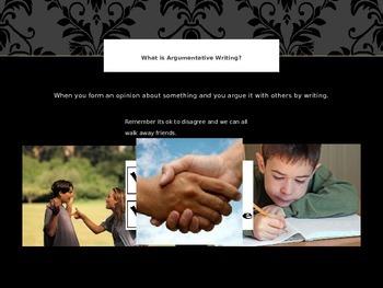 Argumentative/Persuasive Writing PowerPoint