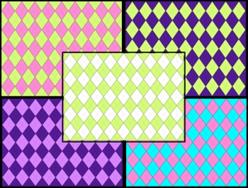 Argyle Backgrounds {Personal/Commercial Use best in Powerpoint}