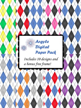 Argyle Digital Paper Pack