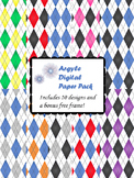 Argyle Digital Paper Pack