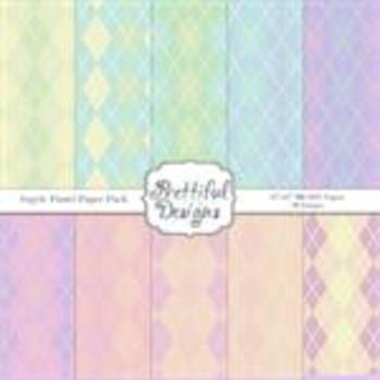 Argyle Paste Paper Pack
