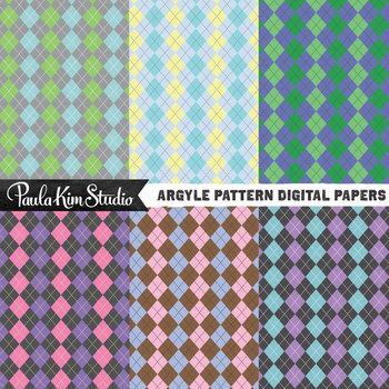 Digital Paper - Argyle