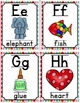 Alphabet Picture Cards & Flashcards {Argyle}