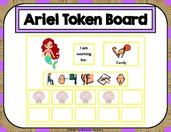 Ariel 10 Token Board with Behavior Visuals