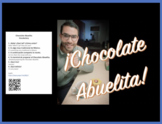 What goes well with snow?! ¡Chocolate abuelita!