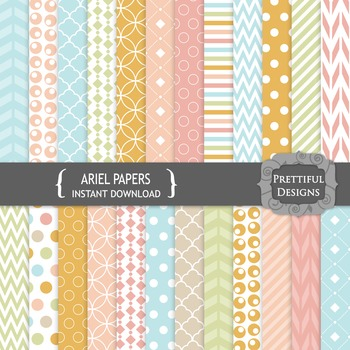 Ariel Digital Papers Backgrounds Commercial Use