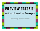 Arioso Level 3 Preview FREEBIE!