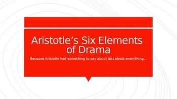 Aristotelian Elements of Drama