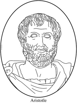 Aristotle Clip Art, Coloring Page, or Mini-Poster