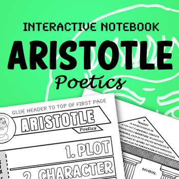Aristotle Poetics Interactive Notebook