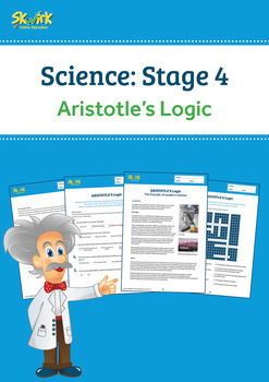 Aristotle's Logic Worksheet ACSHE223, ACSHE226