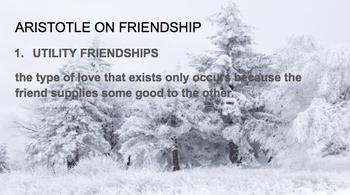 Aristotle's types of friendship