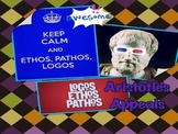 Aristotle's Appeals: Ethos, Pathos, Logos/Writing an Argum