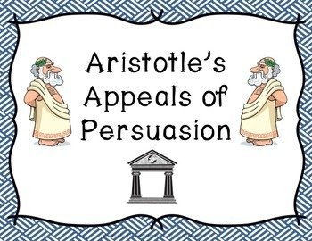Aristotle's Appeals of Persuasion Posters